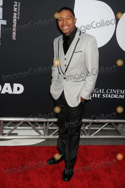 Allen Maldonado Photo - 8 June 2015 - Los Angeles California - Allen Maldonado LA Film Festival 2015 Premiere of Dope held at Regal Cinemas LA Live Photo Credit Byron PurvisAdMedia