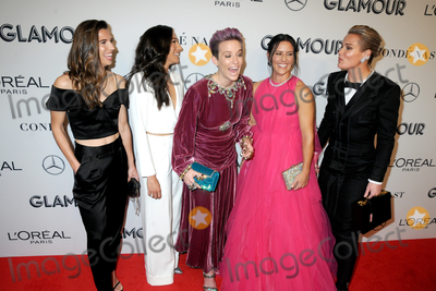 Ali Krieger Photo - 11 November 2019 - New York New York - Tobin Heath Christen Press Megan Rapinoe Ali Krieger and Ashlyn Harris at the GLAMOUR 2019 Women of the Year at Alice Tully Hall in Lincoln Center Photo Credit LJ FotosAdMedia
