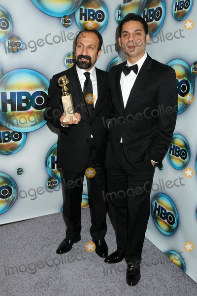 Asghar Farhadi Photo - 15 January 2012 - Beverly Hills California - Asghar Farhadi and Peyman Moaadi HBO 2012 Golden Globe Awards Post Party held at Circa 55 Restaurant Photo Credit Byron PurvisAdMedia