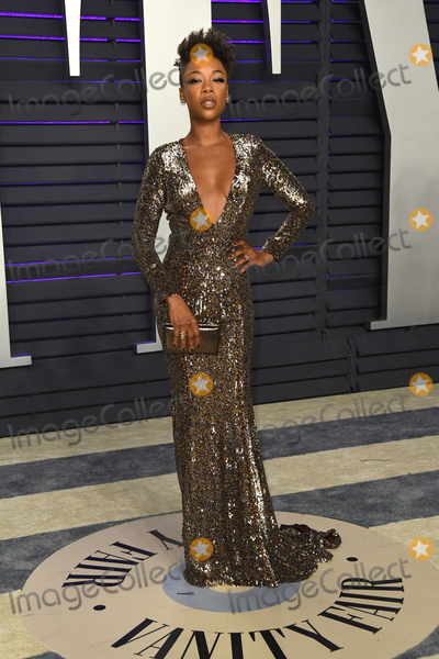 Samira Wiley Photo - 24 February 2019 - Los Angeles California - Samira Wiley 2019 Vanity Fair Oscar Party following the 91st Academy Awards held at the Wallis Annenberg Center for the Performing Arts Photo Credit Birdie ThompsonAdMedia