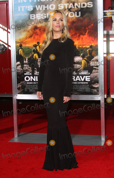 Natalie Hall Photo - 08 October 2017 - Los Angeles California - Natalie Hall Only The Brave Premiere held at the Regency Village Theatre in Los Angeles Photo Credit AdMedia