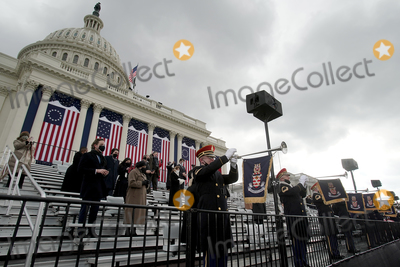 US Army Photo - Members of the US Army Band perform during the 59th Presidential Inauguration on Wednesday January 20 2021 at the US Capitol in Washington DCAdMedia