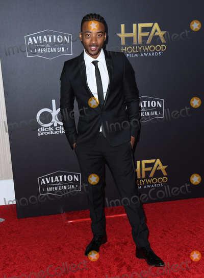 Algee Smith Photo - 04 November 2018 - Beverly Hills California - Algee Smith 22nd Annual Hollywood Film Awards held at Beverly Hilton Hotel Photo Credit Birdie ThompsonAdMedia