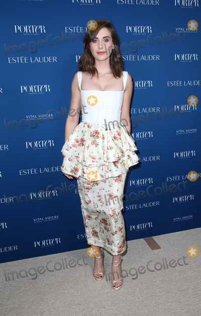 Alison Brie Photo - 9 October 2018-  Los Angeles California - Alison Brie PORTER Incredible Women Gala 2018 held at Ebell Theater Photo Credit Faye SadouAdMedia