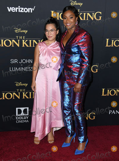 Ali Wong Photo - 09 July 2019 - Hollywood California - Ali Wong Tiffany Haddish Disneys The Lion King Los Angeles Premiere held at Dolby Theatre Photo Credit Birdie ThompsonAdMedia