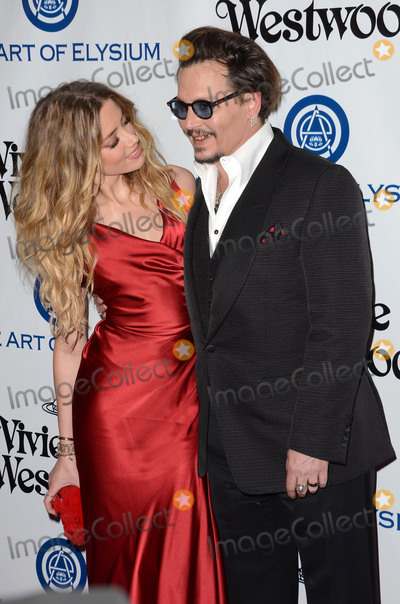 Andreas Kronthaler Photo - 09 January  - Los Angeles Ca - Amber Heard Johnny Depp Arrivals for The Art of Elysiums Presents Vivienne Westwood  Andreas Kronthalers 2016 HEAVEN Gala held at 3Labs Photo Credit Birdie ThompsonAdMedia