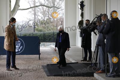 White House Photo - Janet Yellen arrives to be sworn in by United States Vice President Kamala Harris to be Treasury Secretary at the White House in Washington on January 26 2021Credit Yuri Gripas  Pool via CNPAdMedia