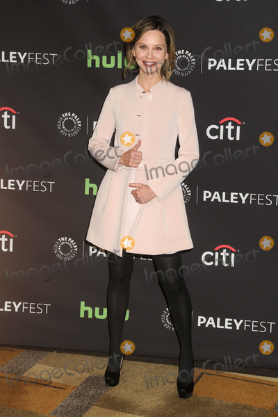 Calista Flockhart Photo - 13 March 2016 - Hollywood California - Calista Flockhart 33rd Annual PaleyFest - Supergirl held at the Dolby Theatre Photo Credit Byron PurvisAdMedia