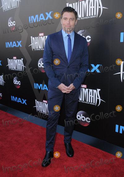 Anson Mount Photo - 28 August  2017 - Universal City California - Anson Mount IMAX Marvels Inhumans World Premiere held at Universal Citywalk in Universal City Photo Credit Birdie ThompsonAdMedia