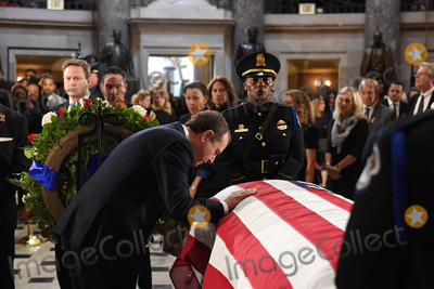 Adam Schiff Photo - United States Representative Adam Schiff (Democrat of California) pays his respects to US Representative Elijah Cummings (Democrat of Maryland) in National Statuary Hall at the United States Capitol on Thursday October 24 2019 in Washington DC The service preceded Cummings lying in state in front of the US House chamberCredit Matt McClain  Pool via CNPAdMedia