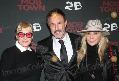 Rosanna Arquette Photo - 13 December 2019 - Hollywood California - Patricia Arquette David Arquette Rosanna Arquette Los Angeles Premiere Mob Town held at The Los Angeles Film School Photo Credit FSAdMedia