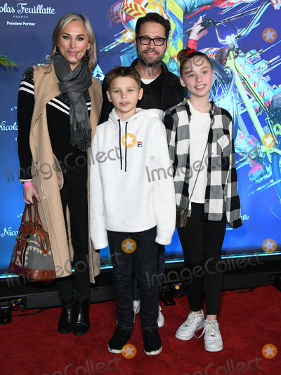 Jason Priestley Photo - 21 January 2020 - Los Angeles California - Jason Priestley Cirque Du Soleils Volta Los Angeles Premiere held at Dodger Stadium Photo Credit Birdie ThompsonAdMedia