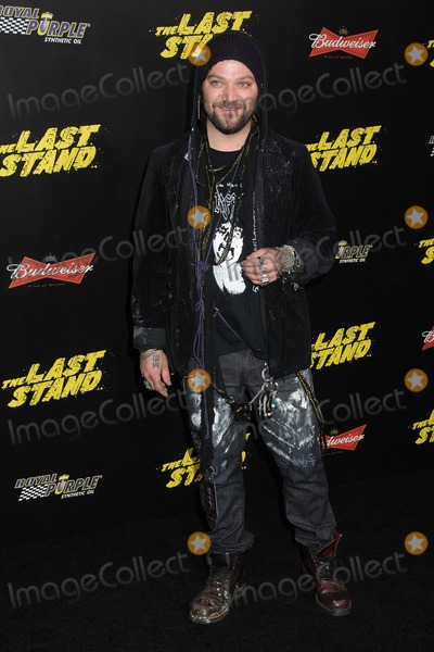 Bam Margera Photo - 14 January 2013 - Hollywood California - Bam Margera The Last Stand World Premiere held at Graumans Chinese Theatre Photo Credit Byron PurvisAdMedia