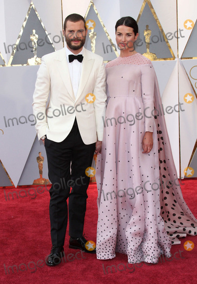 Jamie Dornan Photo - 26 February 2017 - Hollywood California - Jamie Dornan Amelia Warner 89th Annual Academy Awards presented by the Academy of Motion Picture Arts and Sciences held at Hollywood  Highland Center Photo Credit AdMedia