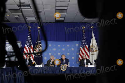 Alex Azar Photo - United States President Donald J Trump participates in a coronavirus roundtable briefing at National Institutes of Healths Vaccine Research Center in Bethesda Maryland on March 3 2020  at center is Director of the National Institute of Allergy and Infectious Diseases at the National Institutes of Health Dr Anthony Fauci and at right is US Secretary of Health and Human Services (HHS) Alex AzarCredit Yuri Gripas  Pool via CNPAdMedia