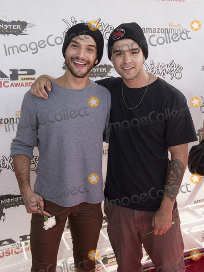 Tyler Posey Photo - 18 July 2016 - Columbus Ohio - Actor Tyler Posey and his brother Jesse Posey attend the Alternative Press Music Awards 2016 held at Jerome Schottenstein Center Photo Credit Jason L NelsonAdMedia