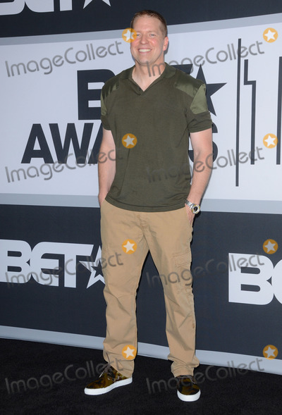 Gary Owens Photo - 29 June 2014 - Los Angeles California - Gary Owen Press Room for the 2014 BET AWARDS held at the Nokia Theater LA Live in Los Angeles Ca Photo Credit Birdie ThompsonAdMedia