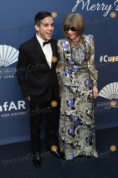 Anna Wintour Photo - 05 February 2020 - New York New York - Matthew Lopez and Anna Wintour at the amfAR Gala New York 22nd Annual Benefit for AIDS Research at Cipriani Wall Street Photo Credit LJ FotosAdMedia