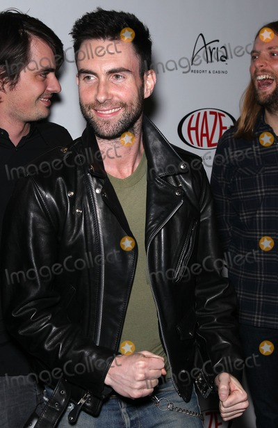 Adam Levine Photo - 08 January 2011 - Las Vegas Nevada - Adam Levine  Adam Levine and James Valentine from Maroon 5 perform at Haze Nightclub at Aria Resort  Casino at CityCenter Photo MJTAdMedia