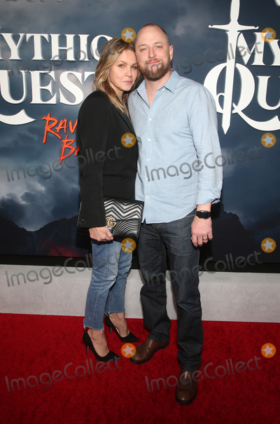Andrea Roth Photo - 29 January 2020 - Hollywood California - Andrea Roth and Todd Biermann Premiere Of Apple TVs Mythic Quest Ravens Banquet held at The Cinerama Dome Photo Credit FSAdMedia