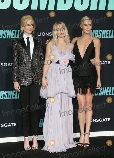 Margot Robbie Photo - 10 December 2019 - Westwood California - Nicole Kidman Margot Robbie Charlize Theron Special Screening Of Liongates Bombshell held at Regency Village Theatre Photo Credit FSAdMedia