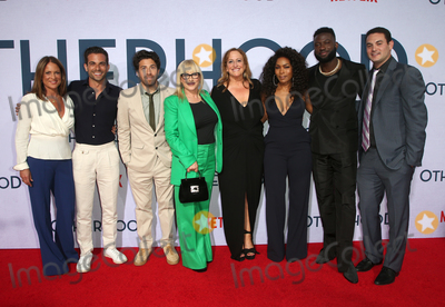 Cindy Chupack Photo - 31 July 2019 - Hollywood California - Cathy Schulman Frank De Julio Jake Hoffman Patricia Arquette Cindy Chupack Angela Bassett Sinqua Walls Jason Michael Berman Photo Call For Netflixs Otherhood held at The Egyptian Theatre Photo Credit FSadouAdMedia