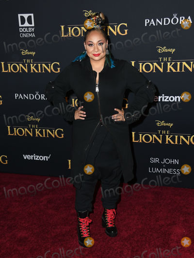 Raven Photo - 09 July 2019 - Hollywood California - Raven-Symone Disneys The Lion King Los Angeles Premiere held at Dolby Theatre Photo Credit Birdie ThompsonAdMedia