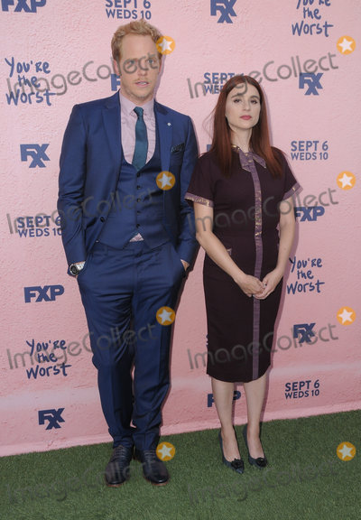 Aya Photo - 29 August  2017 - Los Angeles California - Chris Geere Aya Cash FXXs Youre the Worst Season Four Premiere held at Museum of Ice Cream in Los Angeles Photo Credit Birdie ThompsonAdMedia