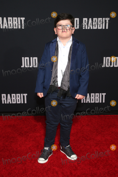 Archie Yate Photo - 15 October 2019 - Los Angeles California - Archie Yates Premiere Of Fox Searchlights Jojo Rabbit held at Post 43 Photo Credit FayeSAdMedia