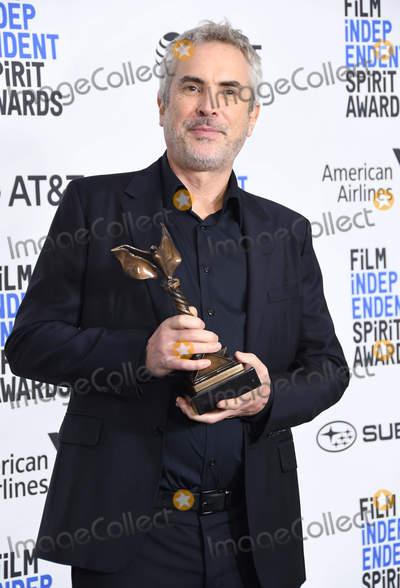 Alfonso Cuaron Photo - 23 February 2019 - Santa Monica California - Alfonso Cuaron 2019 Film Independent Spirit Awards - Press Room held at the Santa Monica Pier Photo Credit Birdie ThompsonAdMedia