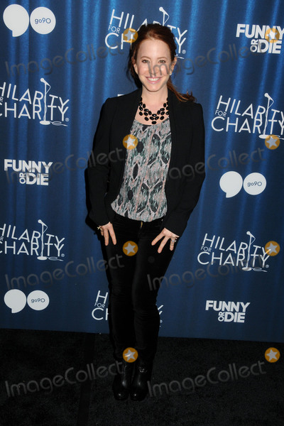 Amy Davidson Photo - 17 October 2015 - Hollywood California - Amy Davidson 4th Annual Hilarity for Charity Variety Show held at The Hollywood Palladium Photo Credit Byron PurvisAdMedia