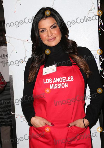 Jennifer Gimenez Photo - 23 December 2016 - Los Angeles California - Jennifer Gimenez Los Angeles Mission Christmas Celebration held at The Los Angeles Mission Photo Credit F SadouAdMedia