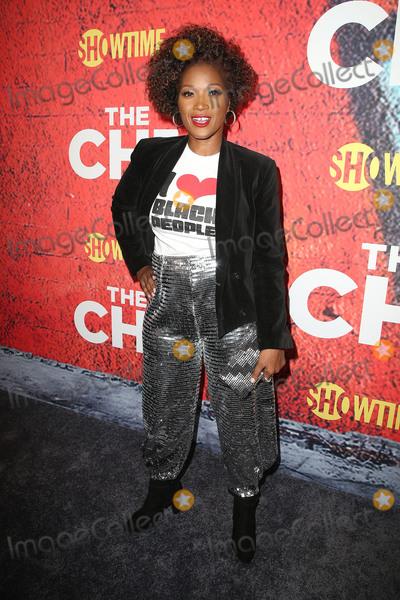 Yolanda Ross Photo - 03 January 2018 - Los Angeles California - Yolanda Ross Showtimes The Chi Los Angeles Premiere held at Downtown Independent Photo Credit F SadouAdMedia