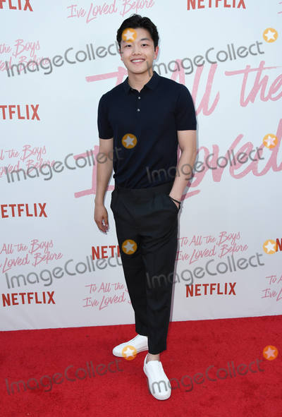 Alex Shibutani Photo - 16 August 2018 - Culver City California - Alex Shibutani Netflixs to All the Boys Ive Loved Before Los Angeles Screening held at Arclight Culver City Photo Credit Birdie ThompsonAdMedia