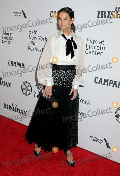 Katie Holmes Photo - 27 September 2019 - New York New York - Katie Holmes The Irishman 57th New York Film Festival held at Alice Tully Hall Lincoln Center Photo Credit AdMedia