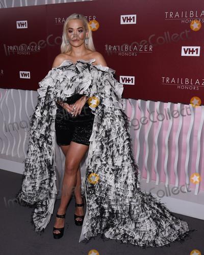 Rita  Ora Photo - 20 February 2019 - Los Angeles California - Rita Ora VH1 Trailblazer Honors celebrate female empowerment held at Wilshire Ebell Theatre Photo Credit Billy BennightAdMedia