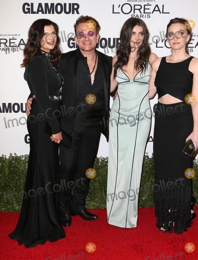 Jordan Hewson Photo - 14 November 2016 - Los Angeles California - Alison Hewson Bono Eve Hewson and Jordan Hewson Glamour Women Of The Year 2016 held at NeueHouse Hollywood Photo Credit AdMedia