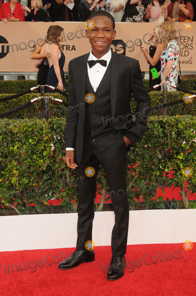 Abraham Attah Photo - 30 January 2016 - Los Angeles California - Abraham Attah 22nd Annual Screen Actors Guild Awards held at The Shrine Auditorium Photo Credit Byron PurvisAdMedia