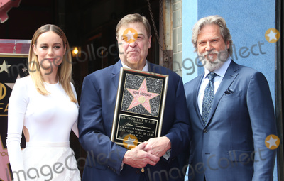 Brie Larson Photo - 11 March 2017 - Hollywood California - Brie Larson John Goodman Jeff Bridges John Goodman Honored With Star On The Hollywood Walk Of Fame Photo Credit AdMedia