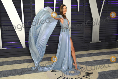 Alessandra Ambrosio Photo - 24 February 2019 - Los Angeles California - Alessandra Ambrosio 2019 Vanity Fair Oscar Party following the 91st Academy Awards held at the Wallis Annenberg Center for the Performing Arts Photo Credit Birdie ThompsonAdMedia