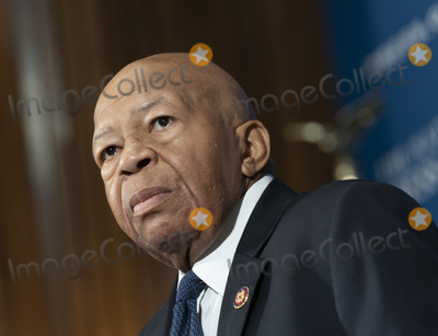 The National Photo - United States Representative Elijah Cummings (Democrat of Maryland) Chairman of the US House Committee on Oversight and Government Reform addresses the Headliners luncheon at the National Press Club in Washington DC on Wednesday August 7 2019 Photo Credit Chris KleponisCNPAdMedia