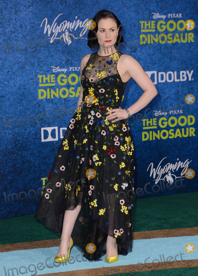 Anna Paquin- Photo - 17 November - Hollywood Ca - Anna Paquin Arrivals for the Premiere of Disney-Pixars The Good Dinosaur held at The El Capitan Theater Photo Credit Birdie ThompsonAdMedia