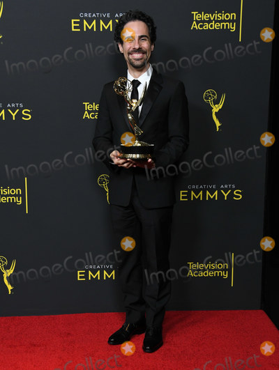 Alex Lacamoire Photo - 14 September 2019 - Los Angeles California - Alex Lacamoire 2019 Creative Arts Emmys Awards - Press Room held at Microsoft Theater LA Live Photo Credit Birdie ThompsonAdMedia