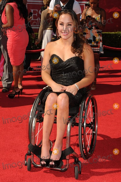 Alana Nichols Photo - 11 July 2012 - Los Angeles California - Alana Nichols 2012 ESPY Awards - Arrivals held at Nokia Theatre LA Live Photo Credit Byron PurvisAdMedia