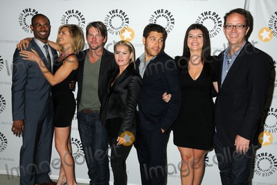 Adam Pally Photo - 29 August 2011 - Beverly Hills California - Damon Wayans Jr Eliza Coupe Zachary Knighton Elisha Cuthbert Adam Pally Casey Wilson and Jonathan Groff The Paley Center Hosts An Evening With Happy Endings held at The Paley Center for Media Photo Credit Byron PurvisAdMedia