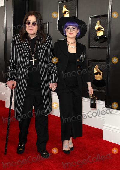 Ozzy Osbourne Photo - 26 January 2020 - Los Angeles California - Ozzy Osbourne Kelly Osbourne 62nd Annual GRAMMY Awards held at Staples Center Photo Credit AdMedia