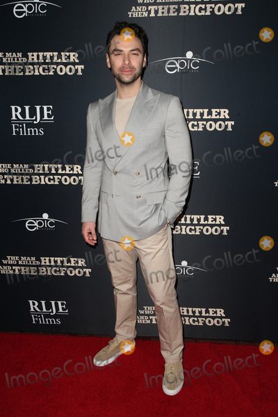 Aidan Turner Photo - 04 February 2019 - Hollywood California - Aidan Turner The Man Who Killed Hitler and Then the Bigfoot Los Angeles Premiere held at Arclight Hollywood Photo Credit Faye SadouAdMedia