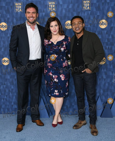 Allison Tolman Photo - 08 January 2020 - Pasadena California - Owain Yeoman Allison Tolman Robert Bailey Jr ABC Winter TCA 2020 held at Langham Huntington Hotel Photo Credit Birdie ThompsonAdMedia