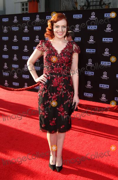 Alicia Malone Photo - 6 April 2017 - Los Angeles California - Alicia Malone 2017 TCM Classic Film Festival Opening Night Gala - 50th Anniversary Screening of In The Heat of The Night held at TCL Chinese Theatre IMAX Photo Credit AdMedia