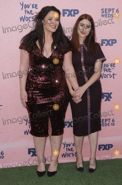 Aya Cash Photo - 29 August  2017 - Los Angeles California - Aya Cash Kether Donohue FXXs Youre the Worst Season Four Premiere held at Museum of Ice Cream in Los Angeles Photo Credit Birdie ThompsonAdMedia